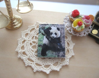 dollhouse panda bear smithsonian  magazine 12th scale miniature