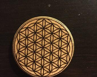 Flower of life magnet