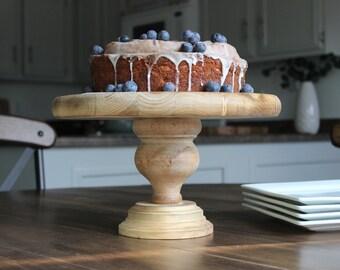Wood Cake Stand • Cupcake Holder • Wood Table Display