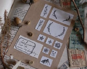 Lin Chia Ning - Lief Stamp Set A