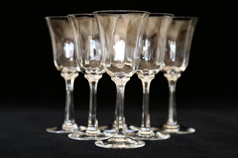 Lenox Crystal Wine Glasses Lenox Allure Optic Crystal