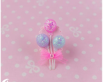 Sparkly balloons Ring