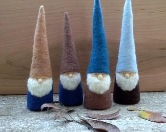 Rustic Winter Gnome - Waldorf Inspired