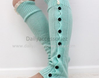 lace womens leg warmers, knit leg warmers, adult, boot socks women, for girls, for women, Christmas Gifts, for her, for mom, for girlfriend