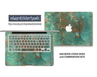 Rusty Copper Metal Abstract MacBook Skin and Combination Sets
