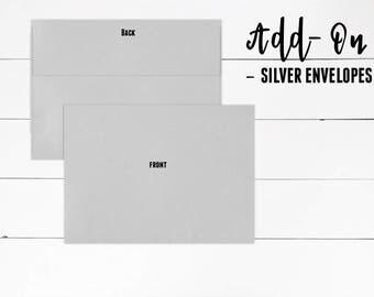 Silver Envelope, Invitation Add-On