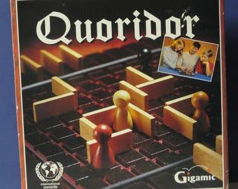 Quoridor Strategic Maze Board Game - Gigamic - 1997 - Complete