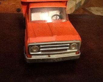 Tonka Orange Dump Truck from the 1960's