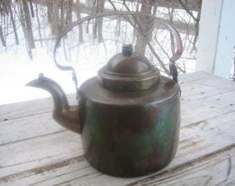 C. M. Hammar (Sweden) copper kettle