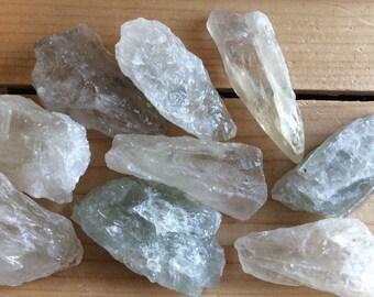 Prasiolite Green Natural Quartz Crystal, Green Amethyst, Spiritual Stone, Healing Stone, Healing Crystal