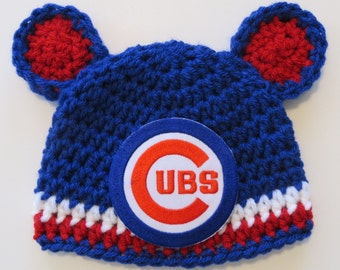 Chicago cubs baby | Etsy