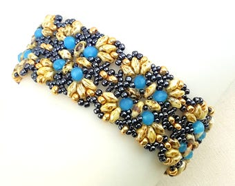 Beaded bracelet, seed bead bracelet