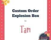 Custom Explosion Box/Birthday Explosion Box
