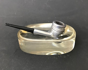 Machine Age Pipe on Lucite