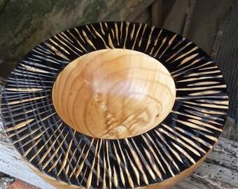 Hardwood bowl