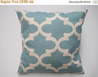 CLEARANCE Pillow Cover, Decorative Throw Pillows, Pillow, Throw Pillow, Blue Pillows, Decorative Pillows, Cushions, Beach Decor, Wedding
