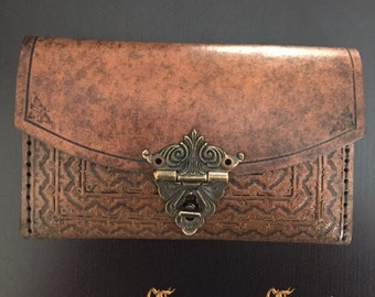 Victorian Medieval Vintage Classy Leather Pouch Case Wallet