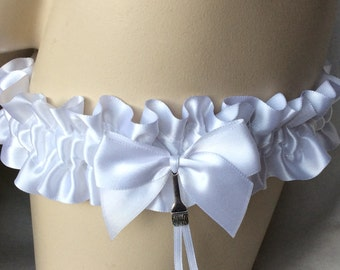 White , Paintbrush , Garter , Painter , Artist , Decorater , Decorator , Wedding , Bride , Hen , Bachelorette , nitelifefashion , UK