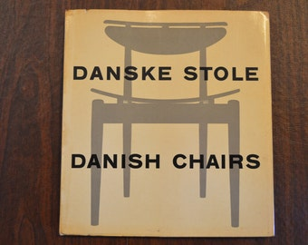 Danske Stole Danish Chairs by Nanna & Jorgen Ditzel, 1954 Printed in Denmark Very Rare