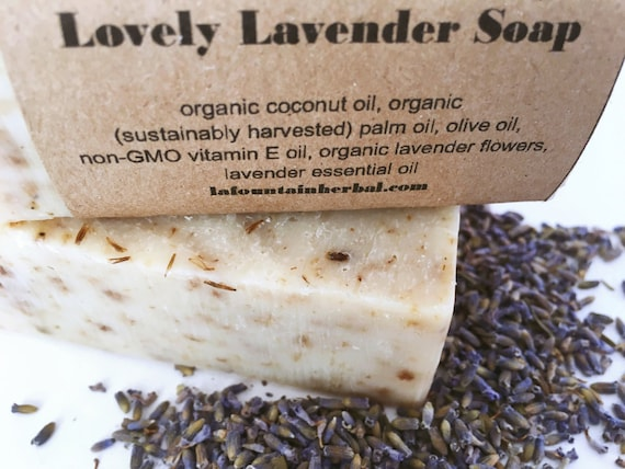 Lovely Lavender Soap - Organic Soap