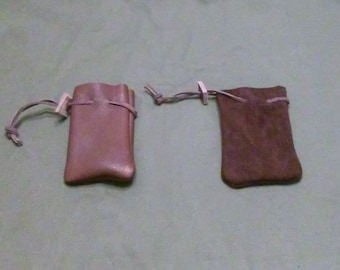 Small Dark Brown Pouch