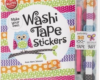 Klutz - Washi Tape Stickers Book Kit