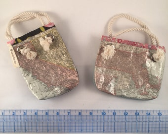 Mini map gift bag