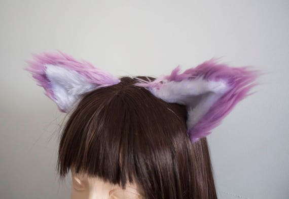 Lavender Fox/Cat Cosplay Ears