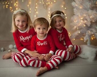 Kids Christmas Pajamas, Kids Christmas Jammies, Matching Kids Pajamas, Kids Christmas Gift, Holiday Pajamas, Matching Jammies,