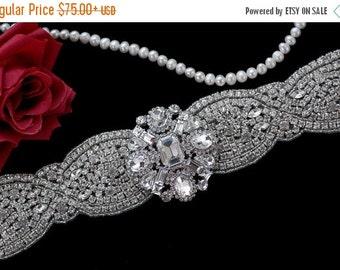 Beaded Bridal Belt Sash , Wedding Sash Belt , Bachelorette Crystal Rhinestone Sash Belt , Wedding Sash , Bridal Belt , Bridal Sash