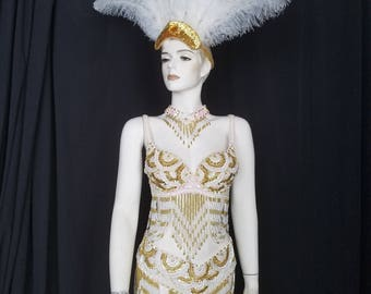 Complete Costume White and Gold