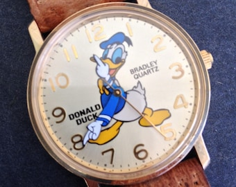 Donald Duck Watch Etsy