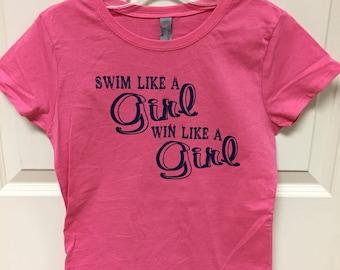 Swim like a girl...win like a girl