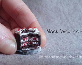 miniature black forest cake