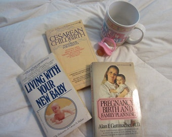 Three CLASSIC Vintage Baby Books for Great Advice and Childcare Hints! (Set #11)  - F