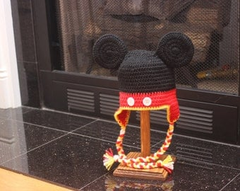 Mickey Mouse Hat (2-4 year old size)