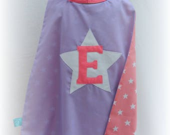 Personalised superhero cape and mask set