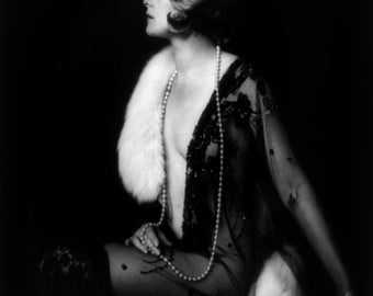 Muriel Finlay, Ziegfeld girl, by Alfred Cheney Johnston, ca. 1928, 1920's