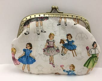 Large Vintage Ladies Coin Purse