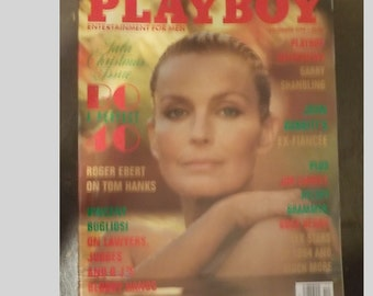 Playboy Entertainment Magazine For Men December 1994 Bo A Perfect 40 Issue EXCELLENT