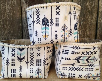 Boho Chic Nursery Soft Bins/Tribal Decor