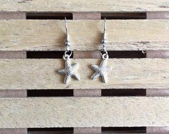 Starfish Earrings, Pair of Starfish Earrings