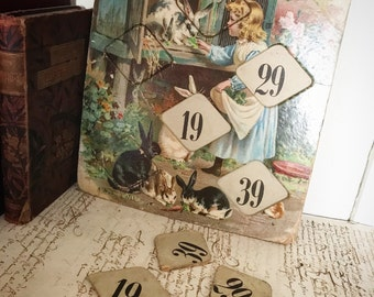 A beautiful Victorian puzzle with numbers