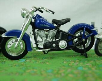 Lot of 3 vintage diecast Motorcycles - Harley Davidson