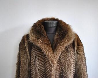 Vintage FUR COAT , glamorous fur coat ..................(277)