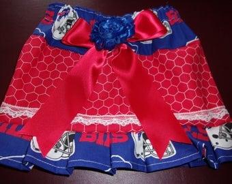 Girls Skirt Size Newborn to 5T NFL Buffalo Bills Skirt