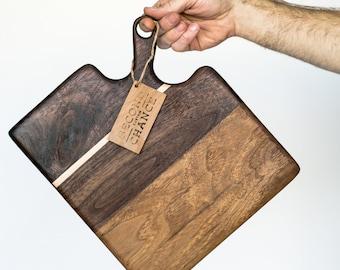 Walnut Handled Serving Board