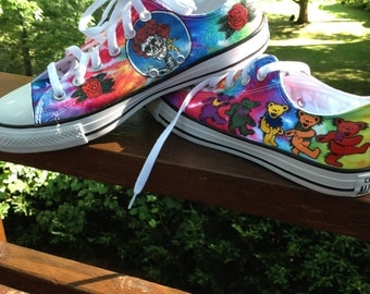 Grateful Dead Converse Hand Painted