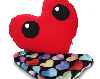 Valentines Gifts for Kids - Red - Valentines Gifts - Pillow blanket set