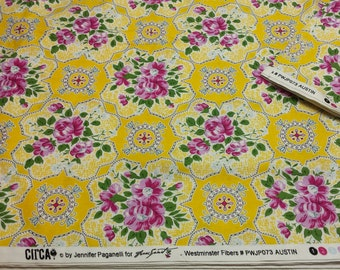 4 yards CIRCA Jennifer Paganelli 'Austin' yellow 4 yards